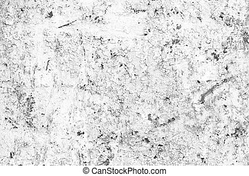 Grunge Black and White Background, Old Metal Textured