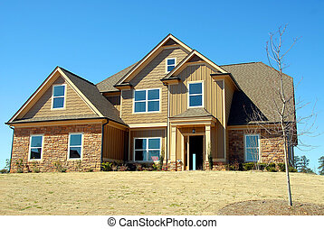 house for sale - photographed house for sale in rural...