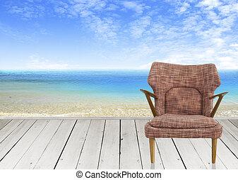 Chsir illustrationen und clip art 1 chsir lizenzfreie for Brauner stuhl