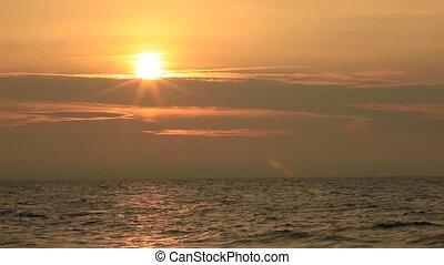 Sonnenuntergang - Meer