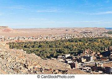 Tinerhir village at Morocco