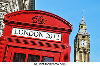 London 2012 Summer Olympic Games - London 2012 written in a...