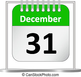 Calendar %u2013 December 31 st - Calendar - Last day of the...