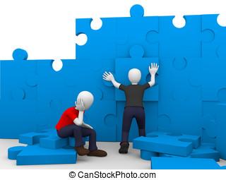 construction puzzle