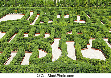 The Borges Labyrinth - Labyrinth in Venice, Island of San...