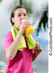 Rehydratation Woman