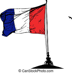 French flag - French flag