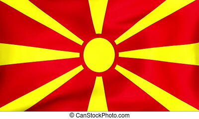 Flag Of Macedonia - Developing the flag of Macedonia