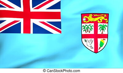 Flag Of Fiji - Developing the flag of Fiji