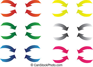 arrows in colors