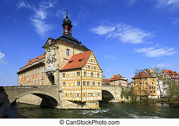 Old Town Hall, Bamberg - the Old Town Hall, Bamberg,...