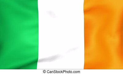 Flag Of Ireland - Developing the flag of Ireland
