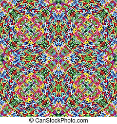 Native American textile designs