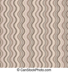 Retro seamless wave pattern - Vector retro seamless wave...