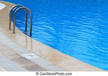 swimming pool full of water