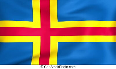 Flag Of Aland islands - Developing the flag of Aland islands