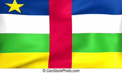 Flag Of Central African