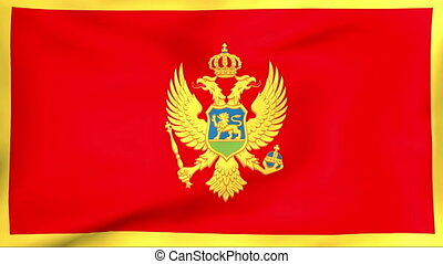 Flag Of Montenegro - Developing the flag of Montenegro