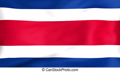 Flag Of Costa Rica - Developing the flag of Costa Rica