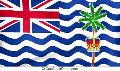Flag Of British Indian Ocean Territory - Developing the flag...