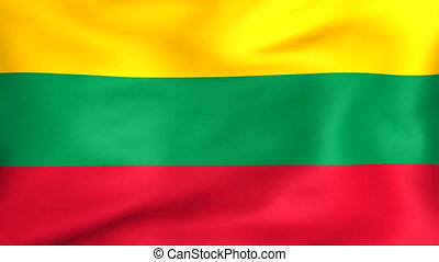 Flag Of Lithuania - Developing the flag of Lithuania