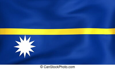 Flag Of Nauru - Developing the flag of Nauru