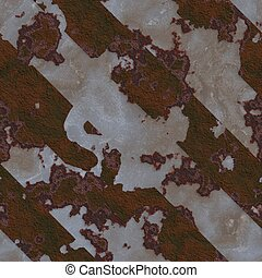 Rusted metal. Seamless texture.