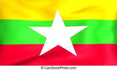 Flag Of Myanmar - Developing the flag of Myanmar