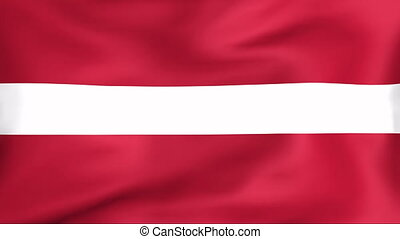 Flag Of Latvia - Developing the flag of Latvia