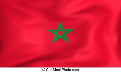 Flag Of Morocco - Developing the flag of Morocco