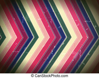 Vintage color stripes - Vintage Abstract background color...