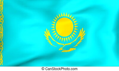 Flag Of Kazakhstan - Developing the flag of Kazakhstan