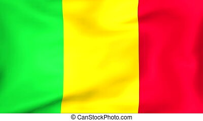 Flag Of Mali - Developing the flag of Mali
