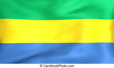 Flag Of Gabon - Developing the flag of Gabon