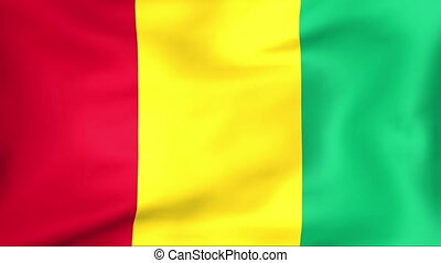 Flag Of Guinea - Developing the flag of Guinea