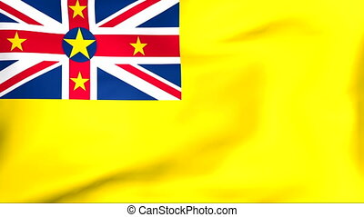Flag Of Niue - Developing the flag of Niue