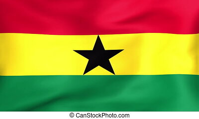 Flag Of Ghana - Developing the flag of Ghana