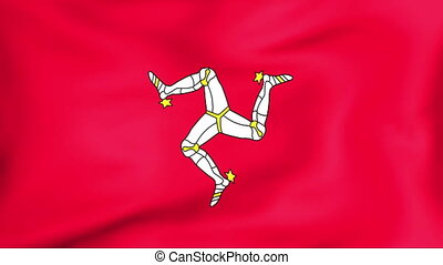Flag Of Isle of Man - Developing the flag of Isle of Man