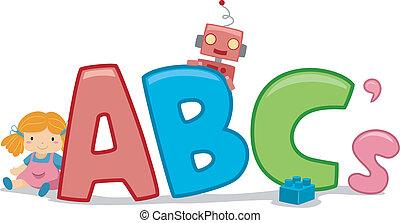 Toys ABCs