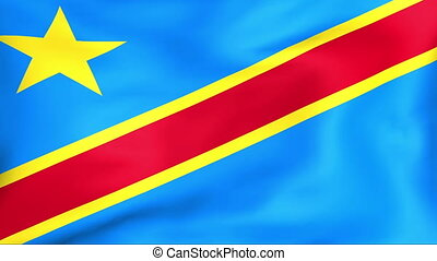 Flag Of Democratic Republic Of The Congo - Developing the...