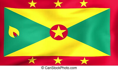 Flag Of Grenada - Developing the flag of Grenada