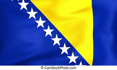 Flag Of Bosnia and Herzegovina - Developing the flag of...