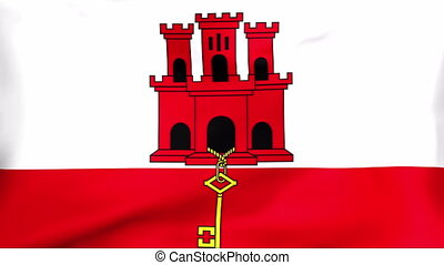 Flag Of Gibraltar - Developing the flag of Gibraltar