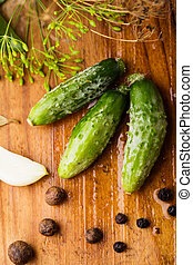 Preparation of small cucumber