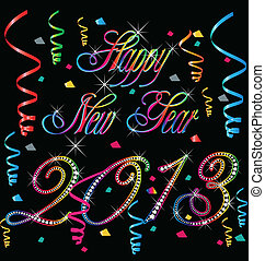 2013 Happy new year - Happy new year 2013 card