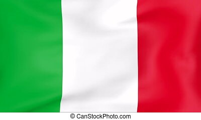 Flag Of Italy - Developing the flag of Italy