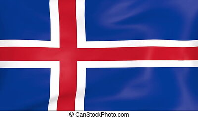 Flag Of Iceland - Developing the flag of Iceland