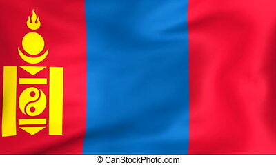 Flag Of Mongolia - Developing the flag of Mongolia