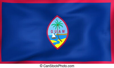 Flag Of Guam - Developing the flag of Guam