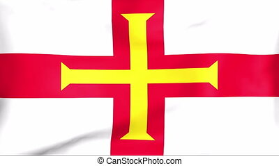Flag Of Bailiwick of Guernsey - Developing the flag of...